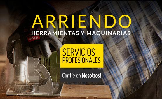 ARRIENDO DE HERRAMIENTAS