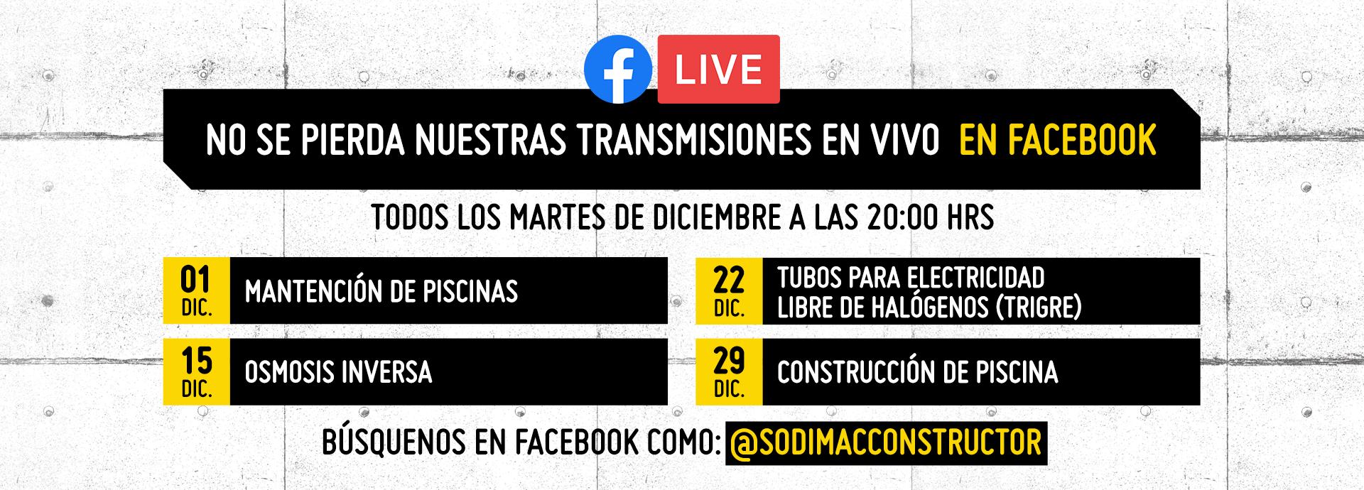 transmisión facebook